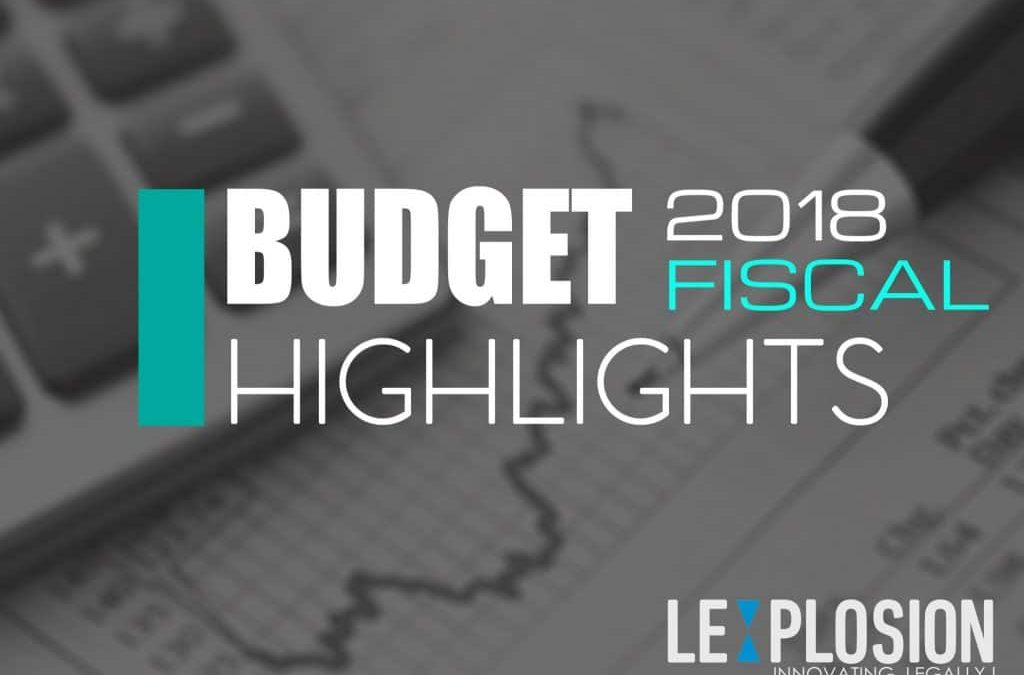 Key Fiscal Highlights of Budget 2018