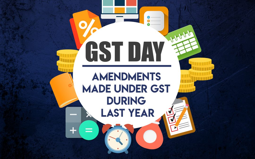Taking a look back at various changes adopted in GST last year, as it turns 3 today!
